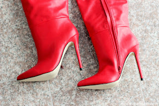 Review: Justfab Stiefel - kunterbunt in den Winter - Zuria Heeled Boot - www.annitschkablog.de