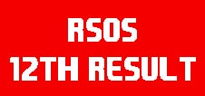 RSOS 12th Result 2020 May/June 12th Class Result Date