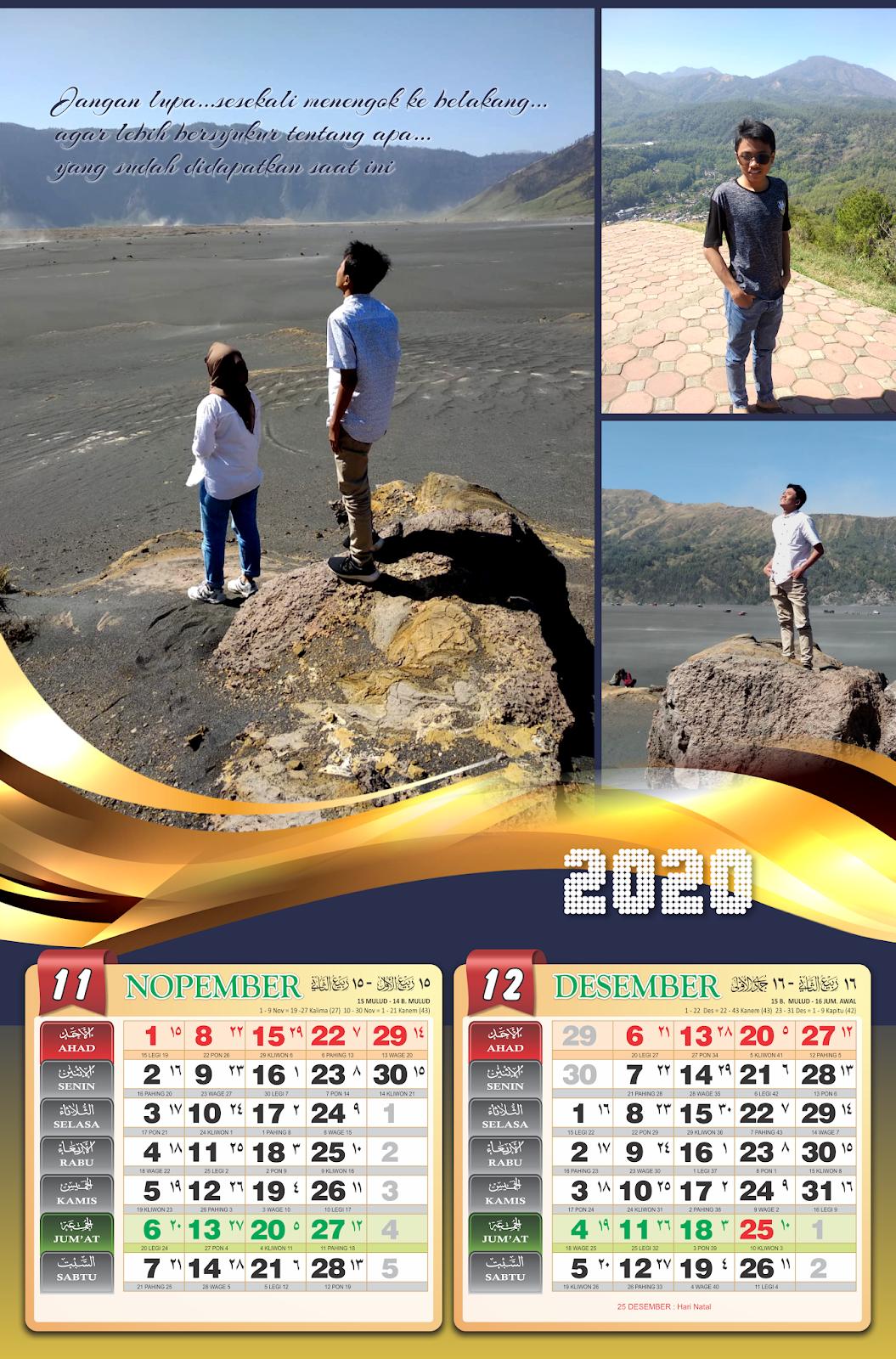 Kalender Minimalis - Jasa desAin grafiS