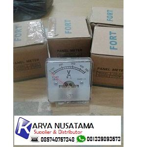 Jual Volt Meter Analog 0-500V OB-45 Analog Panel 0-500V di Palangkaraya