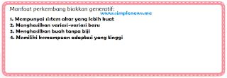 Manfaat perkembang biakkan generatif www.simplenews.me