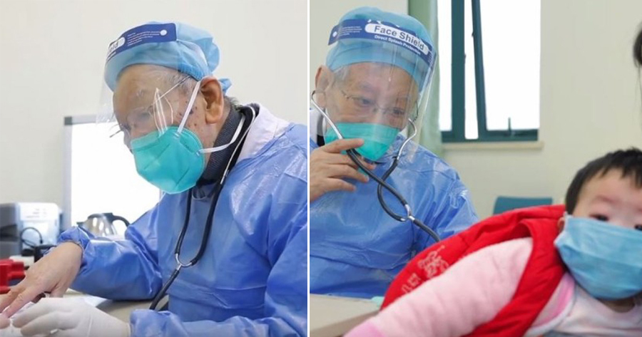 86-year-old doctor comes out of retirement to treat Wuhan coronavirus outbreak patients