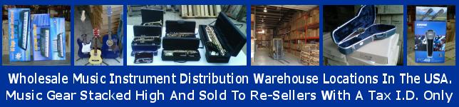 Dropshipper Wholesale Music Instrument Distributor (951)319