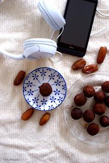 dietetyczne praliny z ciecierzycy