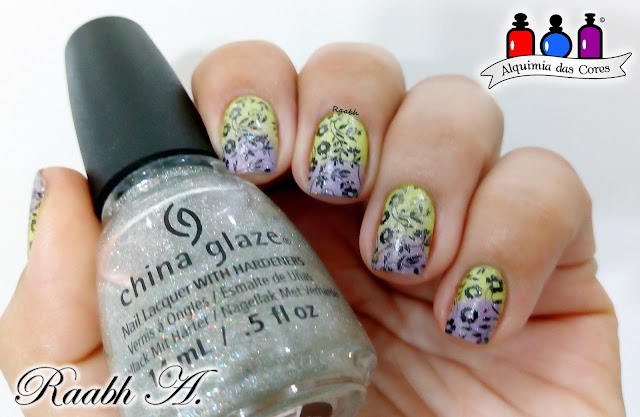 China Glaze Fairy Dust, Maybelline Lemon Twist, Vult Nada Básica, Gradiente,