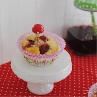 Zauberhafte Erdbeermuffins