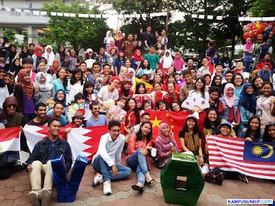Global Village AIESEC Undip, 30 Mahasiswa Asing Tampilkan Kebudayaan 12 Negara