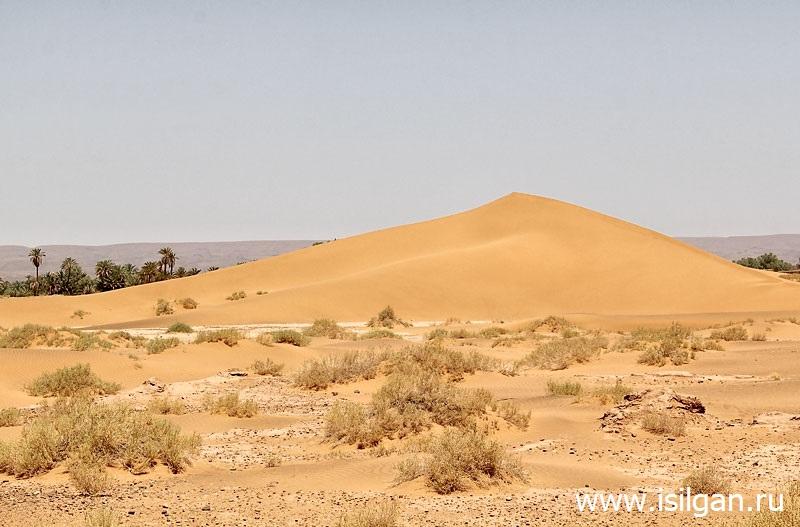 Пустыня Сахара (Sahara). Эрг Шигага. Марокко