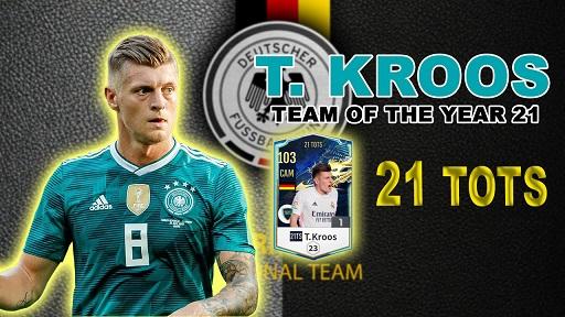 FIFA ONLINE 4 | Review Toni Kroos 21 TOTS khéo léo hơn và chuyền hay