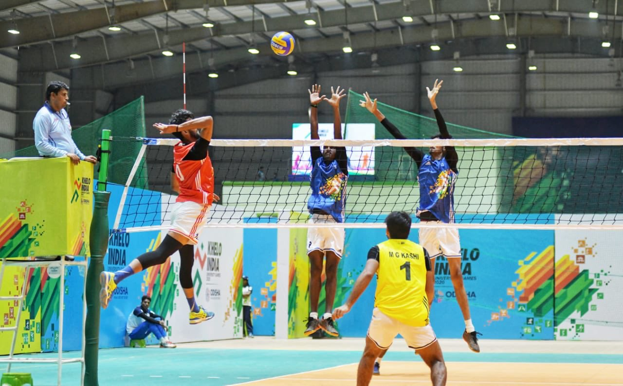 Day 1 Volleyball Results Khelo India University Games 2020 Day 1 Result Roundup