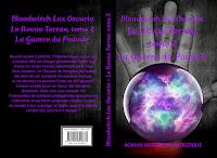 """Couverture de """"Le Novae Terrae, tome 2"""", de Bloodwitch Luz Oscuria"""