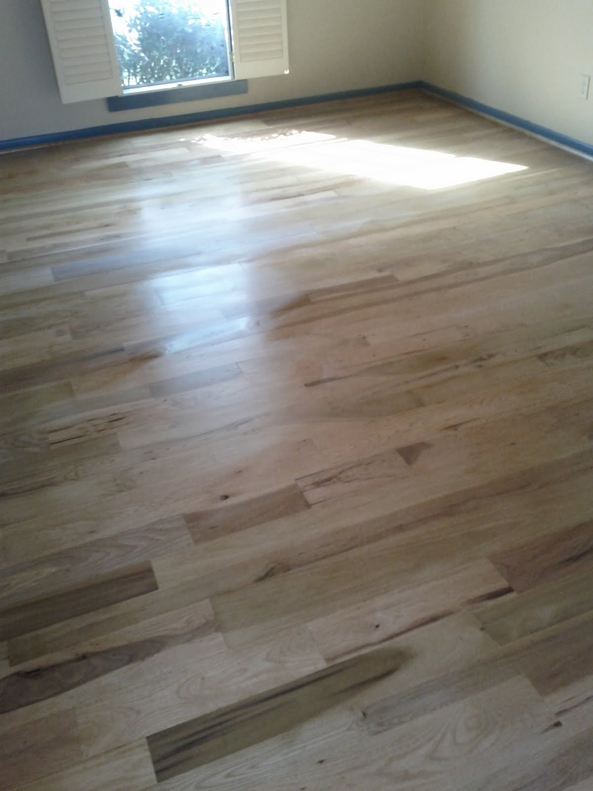 country flooring direct: Hickory Poplar unfinished mixed