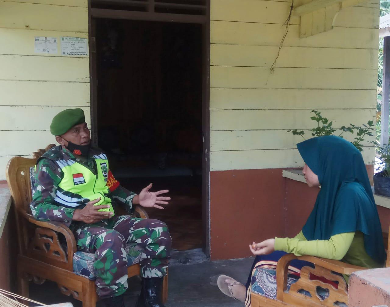 Babinsa Kelurahan Ranai Darat Ajak Pelatih Tari Sanggar Tiara Mayang Melastarikan Tarian dan Budaya Melayu