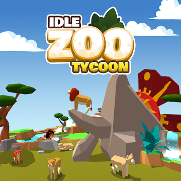 Idle Zoo Tycoon 3D Animal Park Game Para Hileli APK v1.6.7