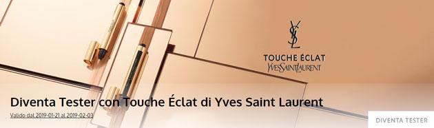clicca qui per candidarti come tester del correttore illuminante Touche Éclat
