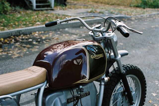 BMW R100 By Clockwork Motorcycles Hell Kustom