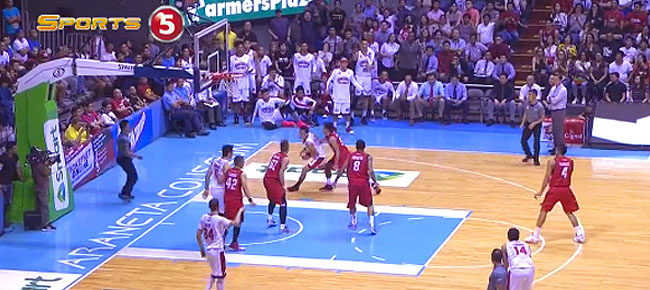 Scottie Thompson's NASTY Spin Move vs. Alaska (VIDEO)