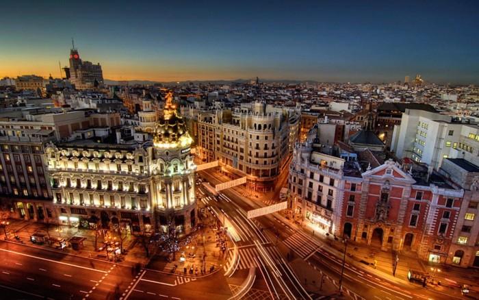 Cities in Spain