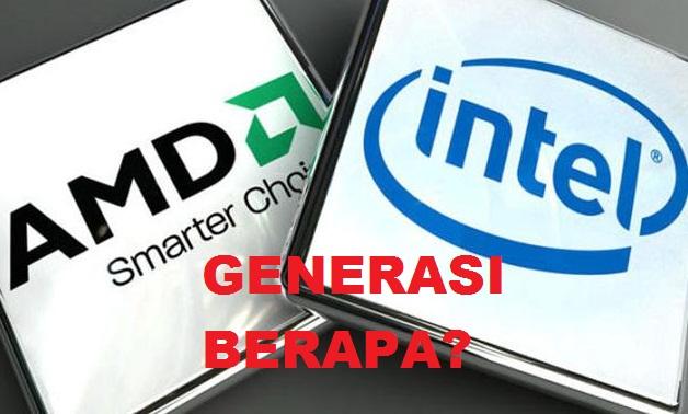 Cara Mengetahui Generasi Prosesor Intel dan AMD