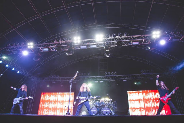 Megadeth Performing Live at NH7 Weekender Shillong