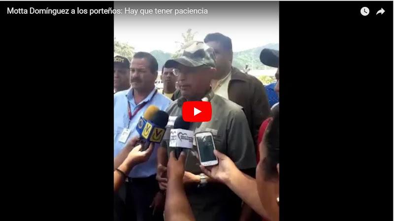 72 horas sin luz en Puerto Cabello y el ministro como si nada