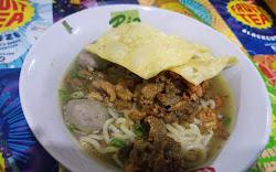 Makan Mie Ayam Enak Dan Es Mojito, murahnya kebangetan
