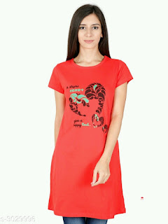 Elegant Cotton Women's T-shirts