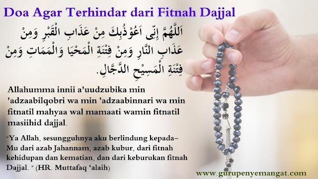 Doa Agar Terhindar dari Fitnah Dajjal