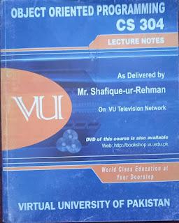 CS304 Object Oriented Programming in C++ - OOP - VU Bookshop