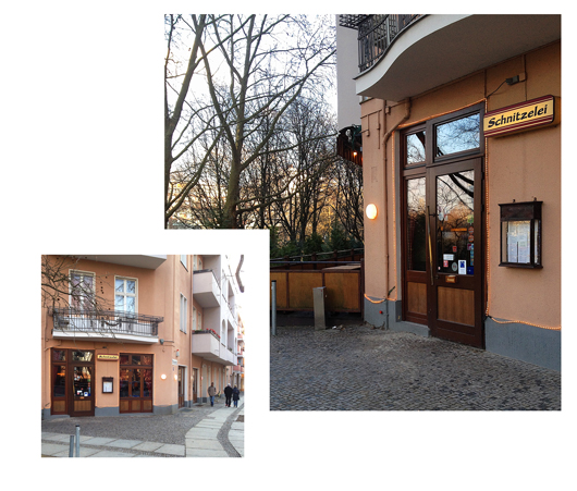 Schnitzelei Berlin Charlottenburg
