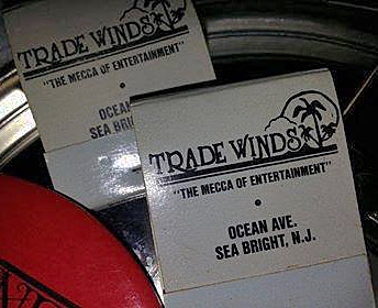 The Trade Winds matchbook's