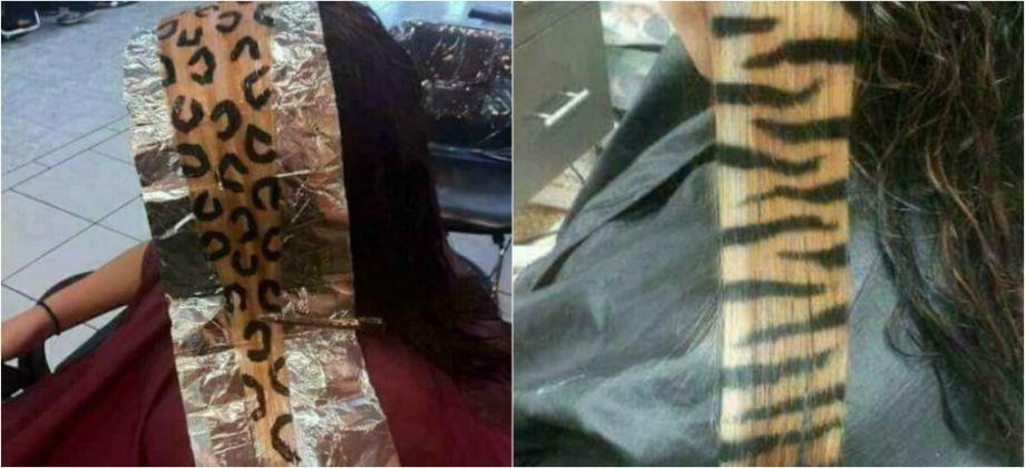 بالصور  «جلد النمر».. أحدث صيحات صبغات الشعر