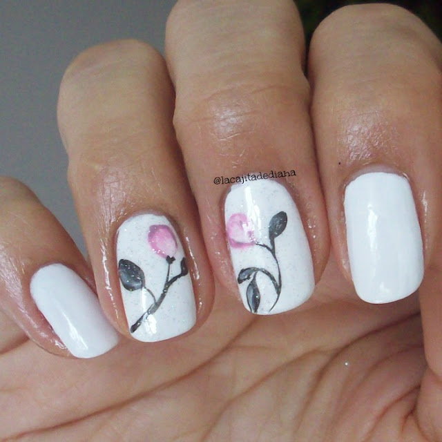 pinkflowers-nailart-design