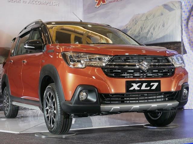Desain Bold dan Gagah, Ini Spesifikasi dan Varian Harga Mobil Suzuki XL7