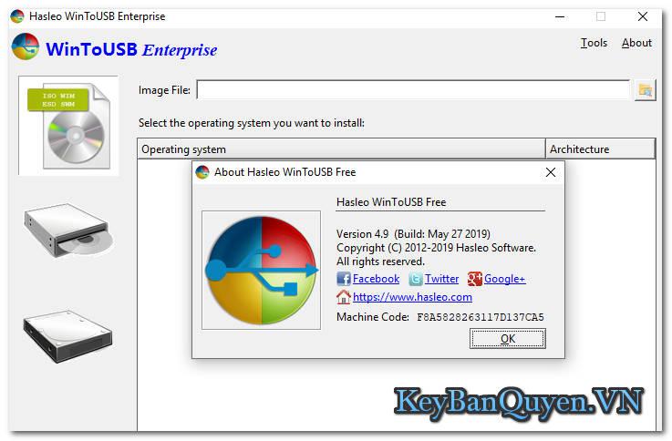 Tải WinToUSB 4.9 Full Key , Phần mềm tạo Windows 7,8 và 10 chạy trực tiếp trên USB .