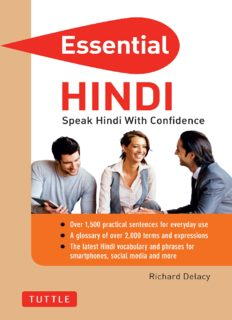Essential Hindi: Speak Hindi with Confidence!