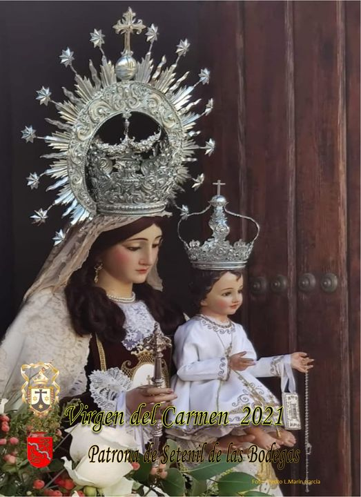 Cartel y Programa de la Virgen del Carmen 2021, Patrona de Setenil de las Bodegas