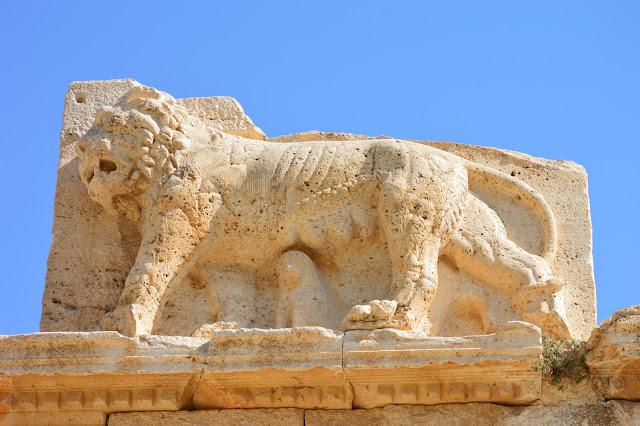 lyon du château EL QASR AL-ABD