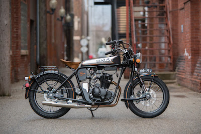 Janus Motorcycles Retro Style Cafe Racer
