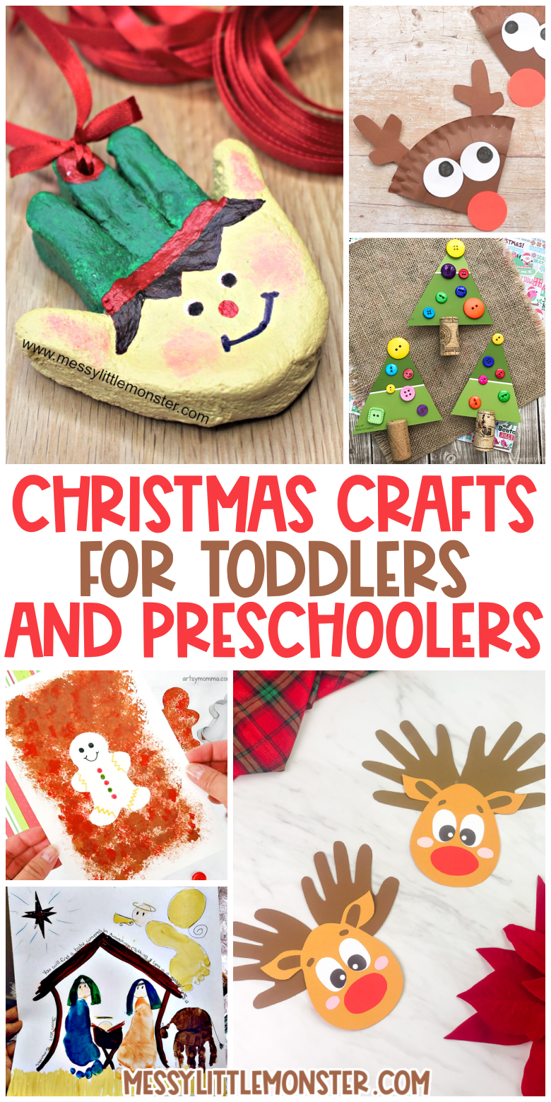 Christmas crafts for toddlers and preschoolers