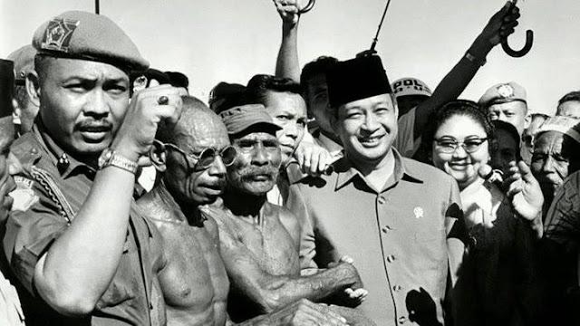 Trik Soeharto Hadapi KKB Papua, Temui Bos Pemberontak, 14 Ribu Pasukan Kembali ke NKRI