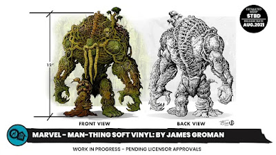 San Diego Comic-Con 2020 First Look: Man-Thing Marvel Comics Soft Vinyl Figure by James Groman x Mondo