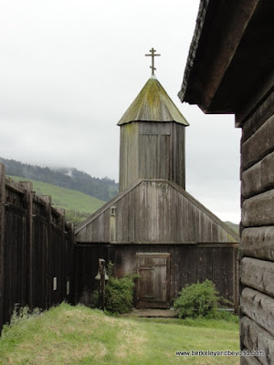 chapel at Fort Ross State Historic Park in Jenner, California