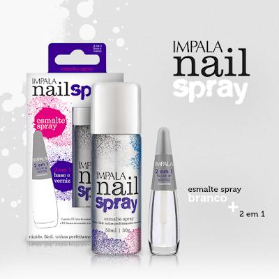 Esmalte em Spray da Impala