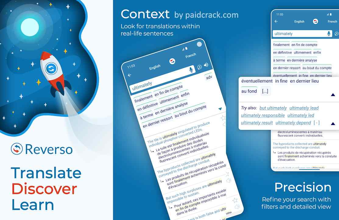 Reverso Translate and Learn Premium Mod Apk 9.9.7