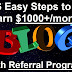 Yes!!! Earn $1000+/pm from blogger outreach and guest posting service in 2019