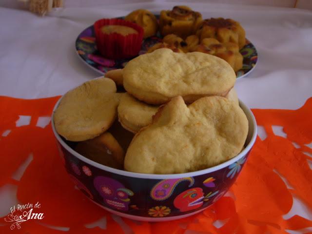 Receta de galletas y muffins de calabaza