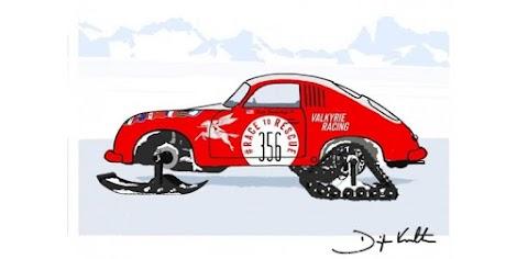 Valkyrie Racing to Rally Classic Porsche in Antarctica