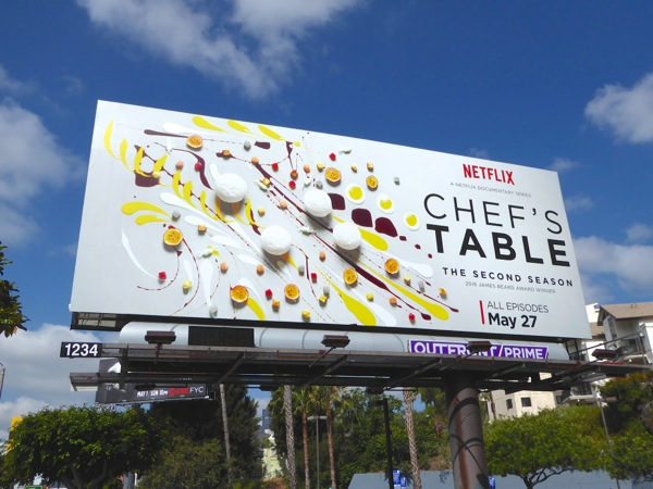 Chef's Table season 2 billboard