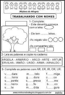 Trabalhando com o nome árvore